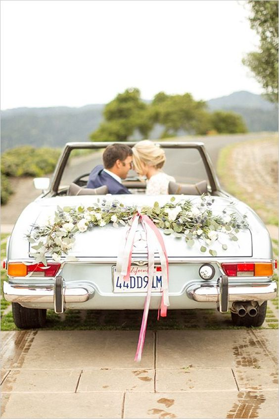 Moderns Cars For Chic Weddings Inspirations Wedding Ideas