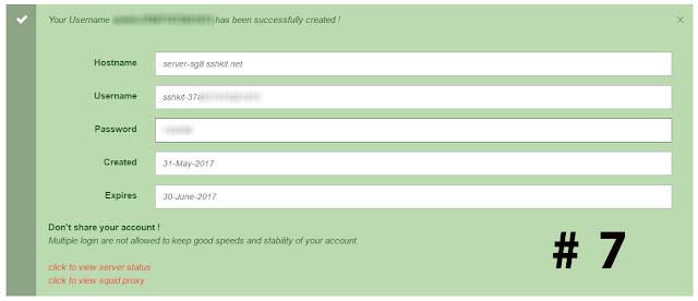 Image Free SSH 1 Month   Share Injek For SSH