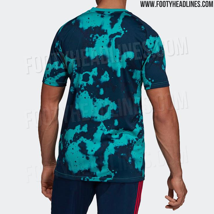 0ed9b1e91 Garish Adidas Arsenal 19-20 Pre-Match Shirt Leaked - Footy Headlines