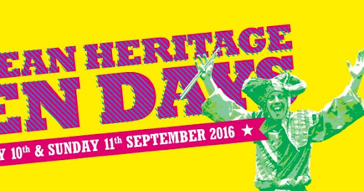European Heritage Free Open Days - FREE ENTRY THIS WEEKEND SEPT 10th & 11th 2016