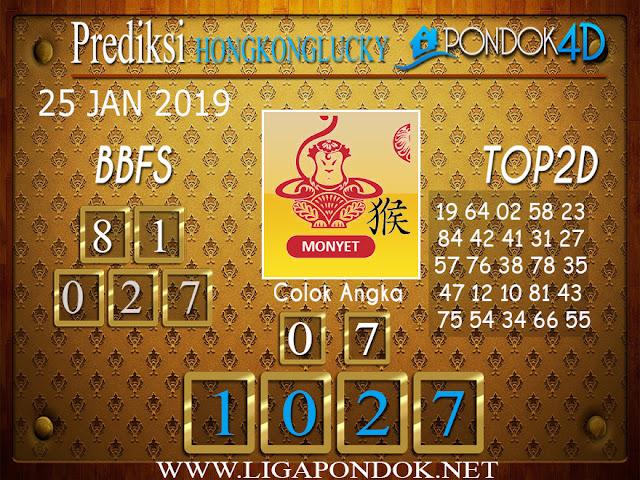 Prediksi Togel HONGKONG LUCKY7 PONDOK4D 25 JANUARI 2019