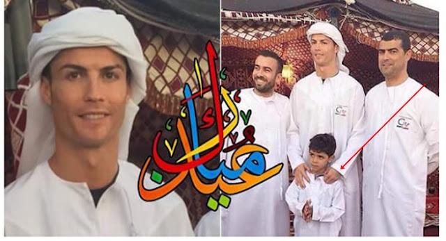 """Benarkah Ronaldo Tertarik Ingin Masuk Agama Islam"""" 7 Ketertarikan Cristiano """"CR7"""" Ronaldo Terhadap Agama Islam - No. 6 Bikin Terharu,Aminkan Kalau Anda Setuju!"""