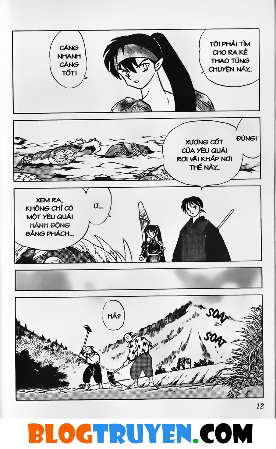 Inuyasha vol 35.1 trang 10