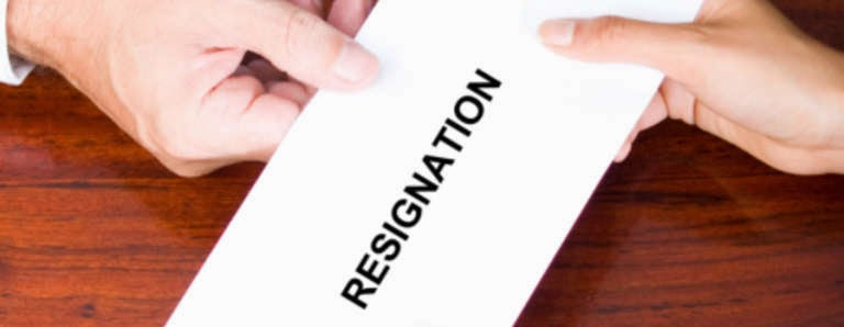 Effective Business Communication Writing Resignation