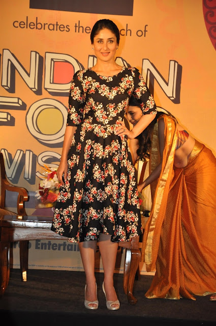 Kareena Kapoor at Indian Food Wisdom DVD Launch