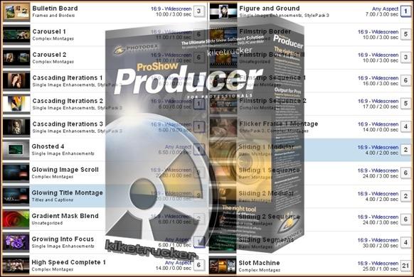 MegaPack Styles para Proshow Producer
