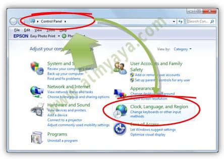 How to change nvidia control panel language