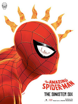 New York Comic Con 2018 Exclusive Spider-Man Screen Print by Doaly x Grey Matter Art x Marvel