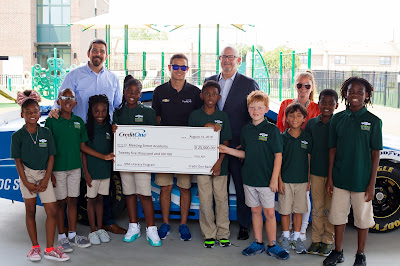 Chip Ganassi Racing Partner, Credit One Bank, Donates $25,000 To School Library