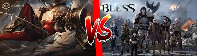 Revelation VS Bless Online: Which One is the Best F2P MMO of 2017