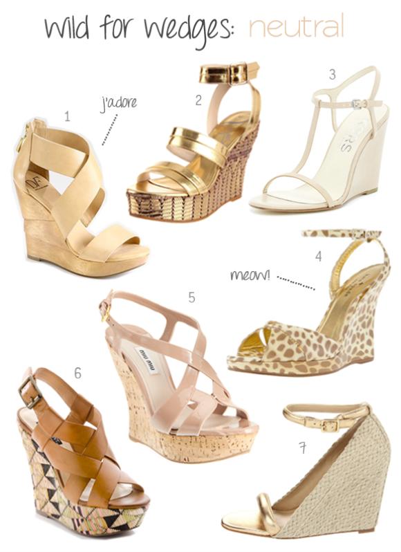 7767a05a5b60 Vogue Women s Angel in Egypt Wedge Sandal 3. Michael Kors Ruby Wedge 4.  Kate Spade Vero Ocelot-Print Wedge 5. Miu Miu Cutout Slingback Wedge Sandal  6.