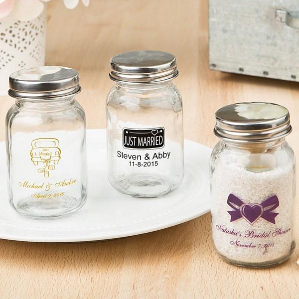 Personalized Candy Mason Jars