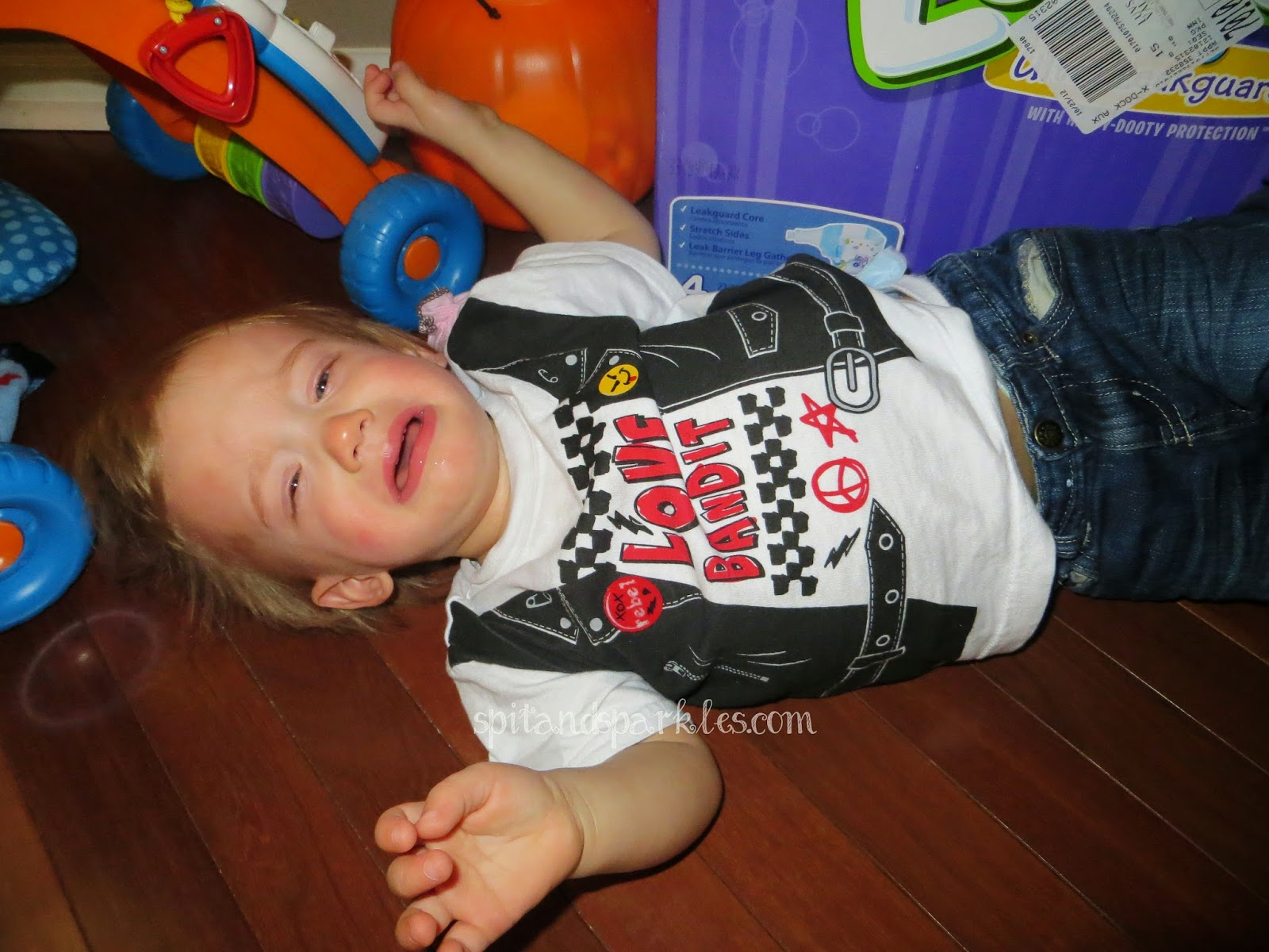 Learning to smile amid the tears! #reasonsmykidiscrying  #toddlertantrums
