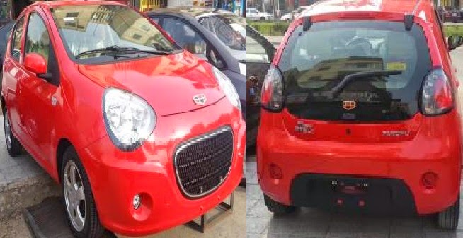 صور سيارة جيلى باندا - 2014 Geely LC Panda