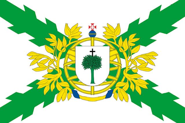 Bandera del Estado Brasileño diseñada por Cabeleira Santoro