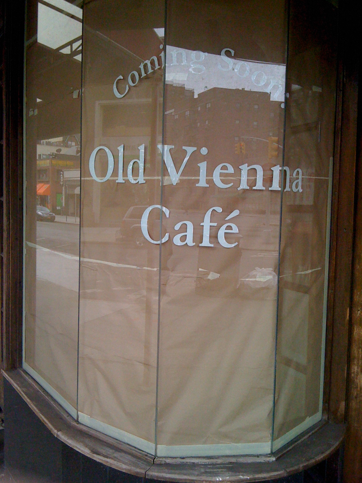 Edge Of The City Old Vienna Cafe To Replace La Terrazza