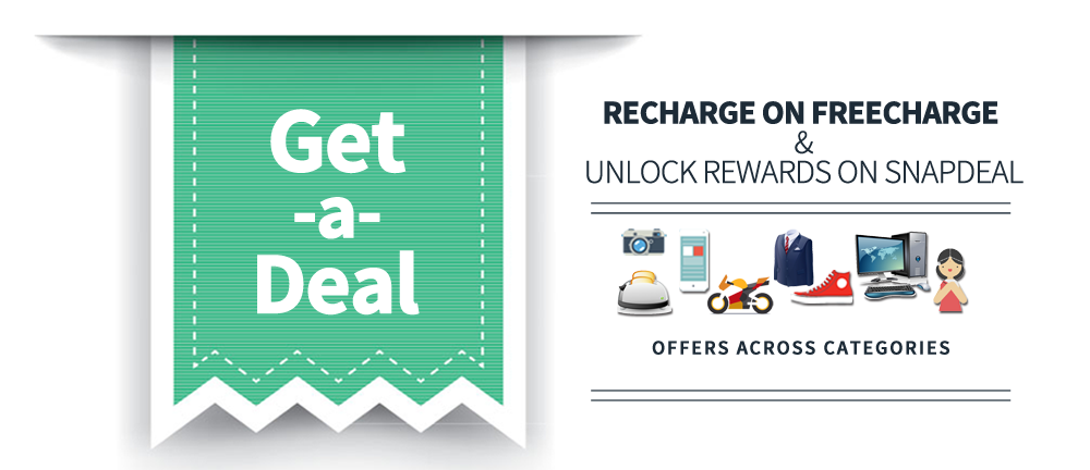 Get A Deal Recharge On FreeCharge And unlock Reward on