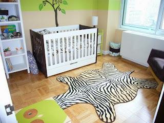 habitación bebé decorada