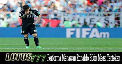 Performa Menawan Ronaldo Bikin Messi Tertekan