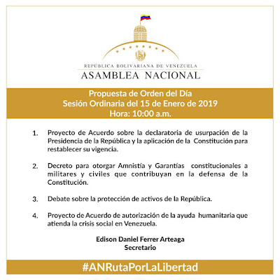 sesion asamblea nacional 15 de enero