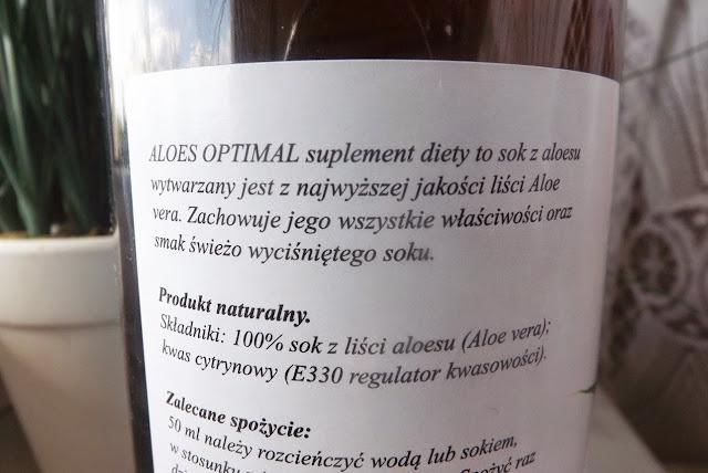 zastosowanie soku z aloesu