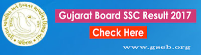 Gujarat SSC Result 2017
