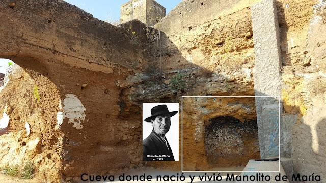 Manolito de María cantaor de Alcalá de Guadaíra