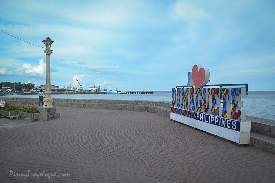 """I Love Dumaguete"" standee along Rizal Boulevard"