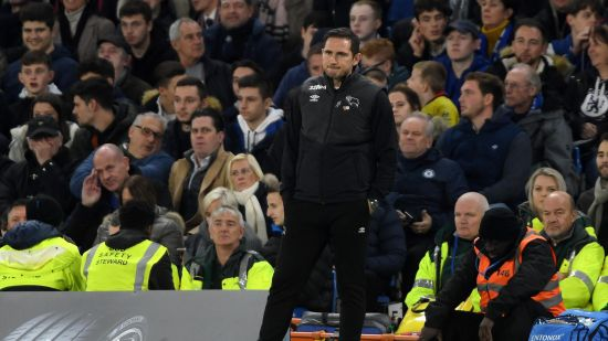 Derby County's Manager Frank Lampard Returns To Stanford Bridge