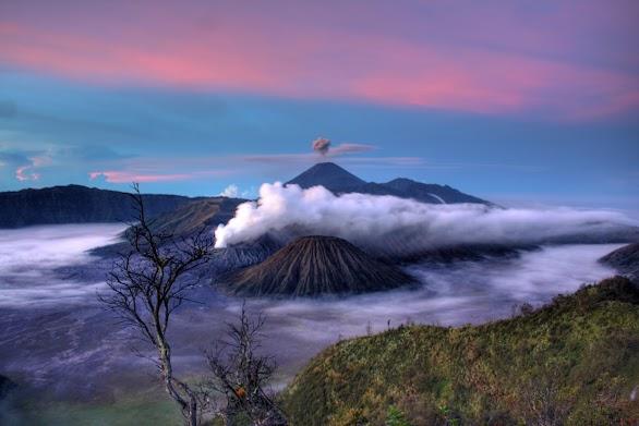 Mountains Nature Fog