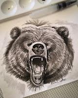 оскал медведя
