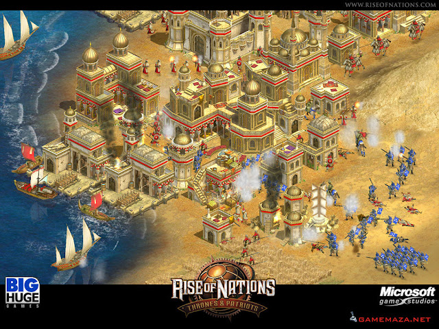Rise of Nations Thrones and Patriots Gameplay Screenshot 1