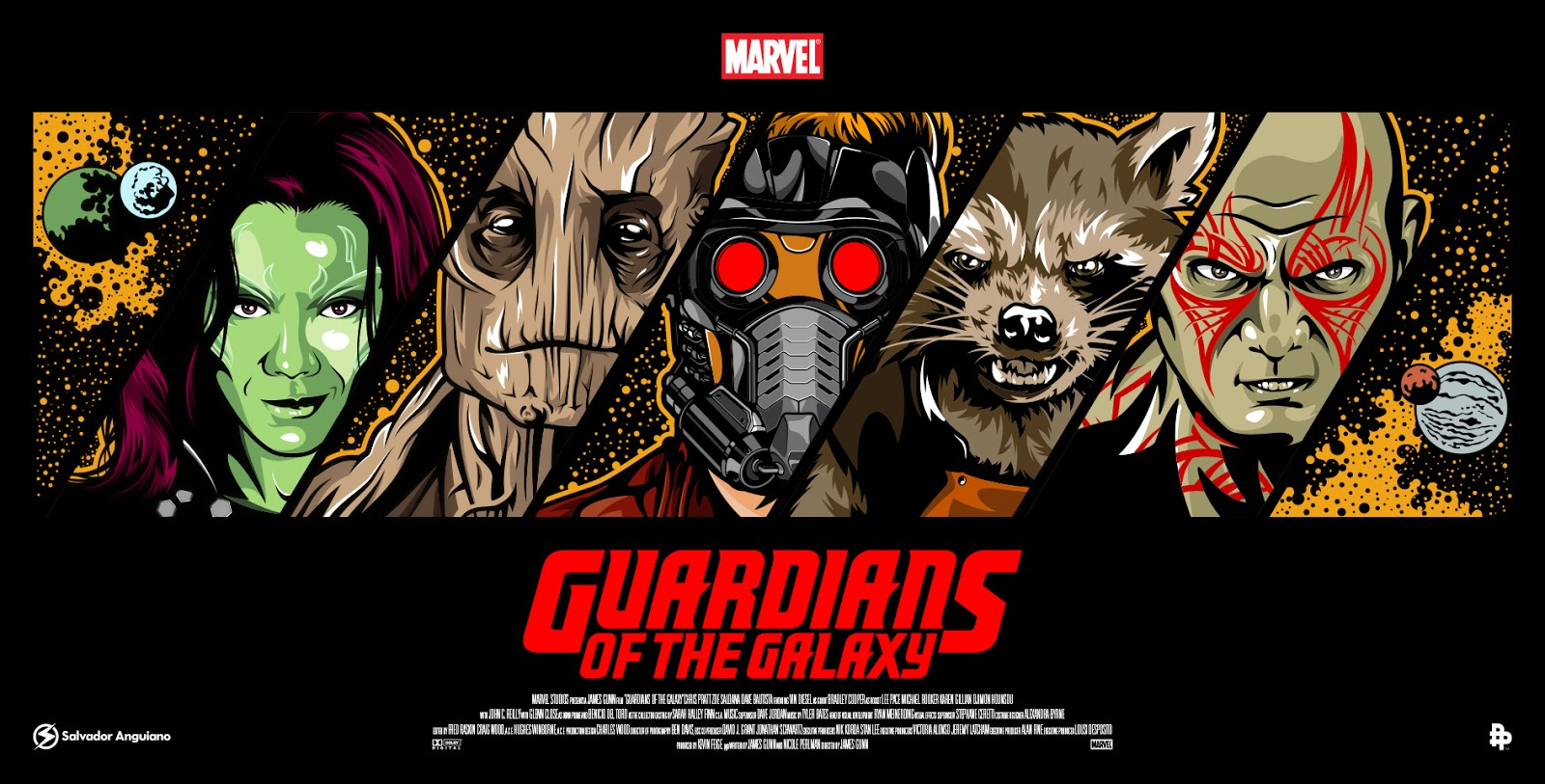 The Geeky Nerfherder: Movie Poster Art: 'Guardians Of The