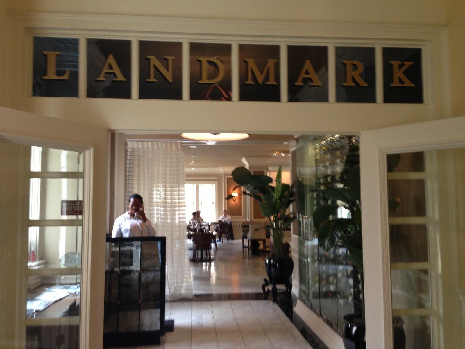 TASTE OF HAWAII: LANDMARK RESTAURANT - WARWICK MELROSE HOTEL