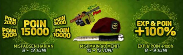 Event PB 8 Juni 2016 Spesial Ramadhan