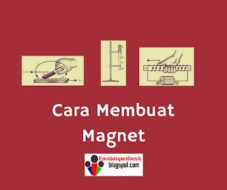 3 Cara Membuat Magnet (Menggosok, Induksi, Dialiri) dengan Gambarnya