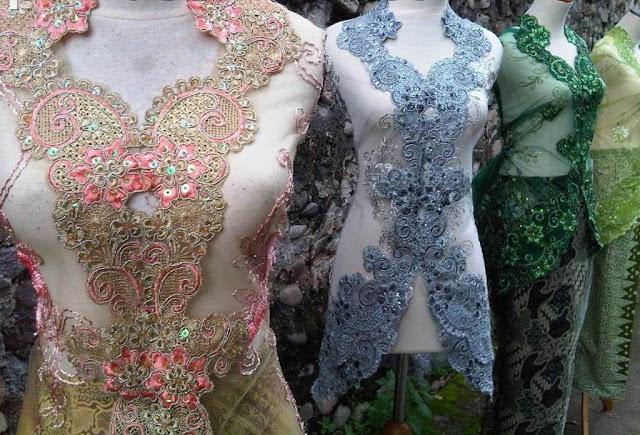 Model Baju Kebaya Modern Lengan Pendek