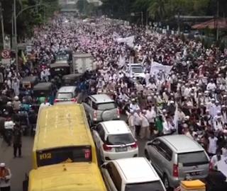 5.000 Ormas Islam ikut Demo Tolak Ahok