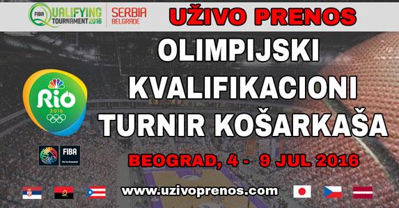 Olimpijski Kvalifikacioni Turnir Košarkaša Livestream