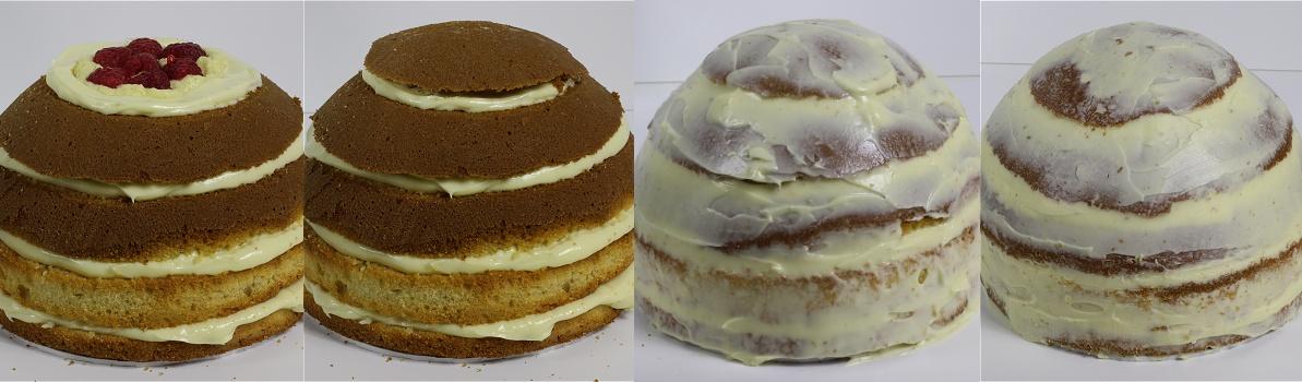 Baseball Cap Cake - Baseballkappen-Motivtorte - Kappen-Torte Anleitung 7