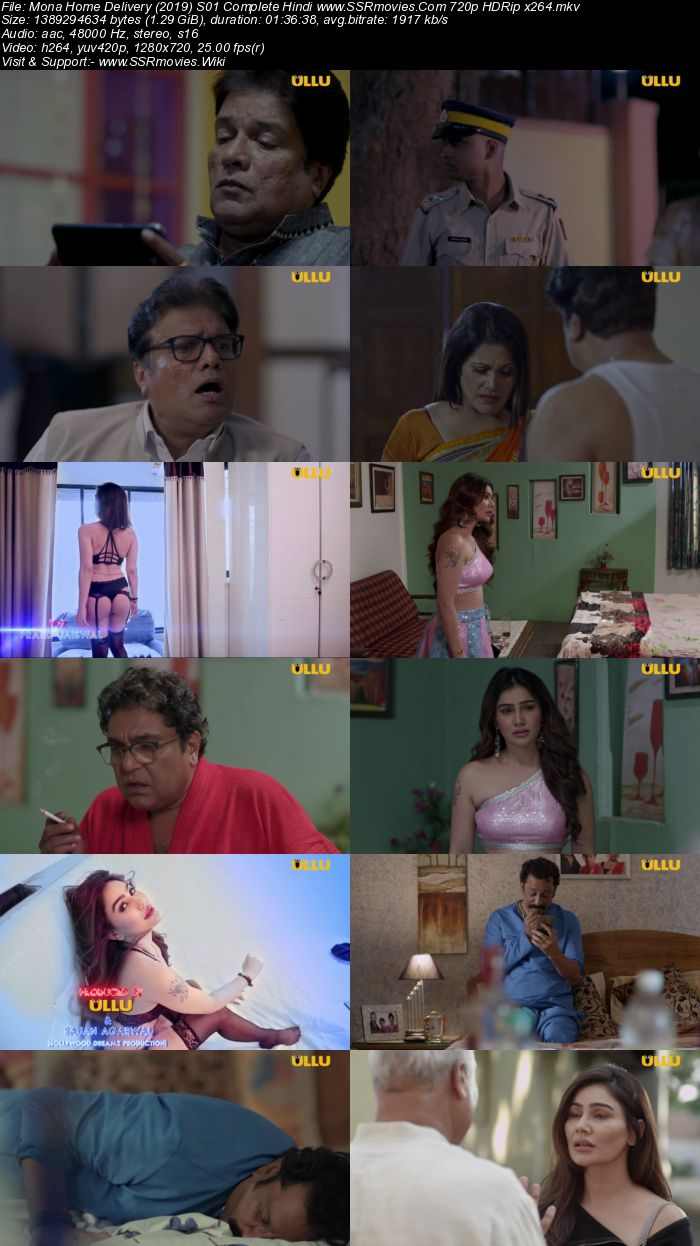 Mona Home Delivery (2019) S01 Complete Hindi 480p HDRip 300MB Movie Download