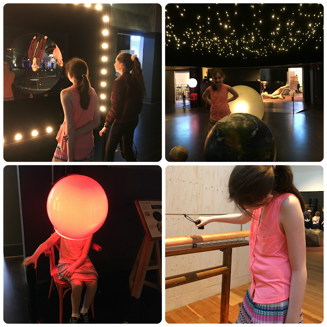 various activities in Wonderlab at Science Museum