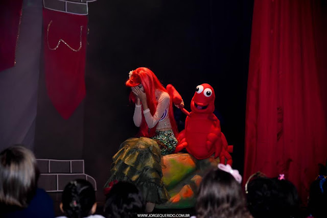 musical solidário Ariel, uma história dos 7 mares Humantoche Produções