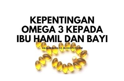 Omega guard, Set kehamilan shaklee, Omega 3, Ibu hamil,