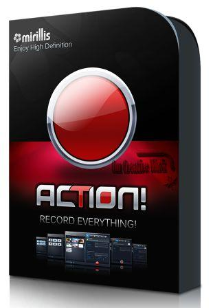 Mirillis Action Screen recorder 3.1.4 Free Download | New Additional Fix