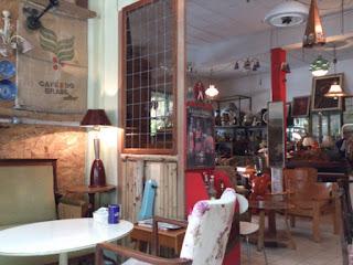 バンコクの喫茶店