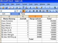 Fungsi Bantu Statistik Microsoft Excel Lengkap Dengan Rumus