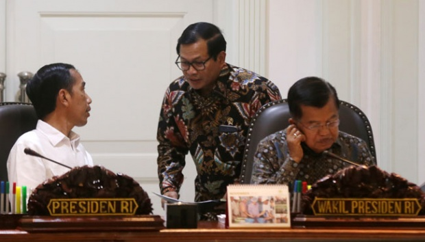 Dahnil 'Seret' Jokowi ke Kasus Dana Kemah, Ini Respons Seskab