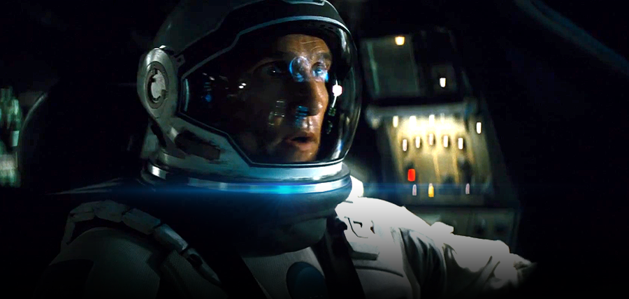 Matthew McConaughey în Interstellar