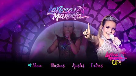 1324085770116 Nome  Larissa Manoela Up Tour Gênero  Pop Duração  99 Min Audio  Português  Tamanho  4